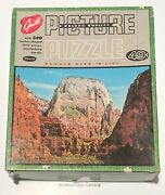 Vintage Guild Great White Throne 340 Piece Puzzle 201 Used Complete Read Utah