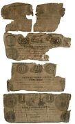 4 Piece Mayor And Common Council Newark New Jersey Notes