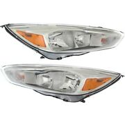 Fo2502340, Fo2503340 Headlight Lamp Left-and-right Lh And Rh For Ford Focus 15-18