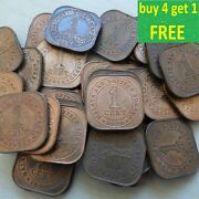 Straits Settlements, Malaya And British Borneo Coins Choose Your Date