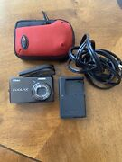 Nikon Coolpix S600 Digital Camera W/ Battery And Charger