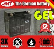 Jmt Gel Battery - Ytx14-bs For Suzuki Scooters