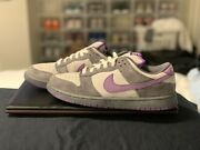 Nike Dunk Low Pro Sb And039purple Pigeonand039 Graphite Violet Sz 10 Rare 100 Authentic