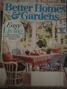 Better Homes And Gardens June 2019 Gardening Home Decor Outdoor Patio Furniture