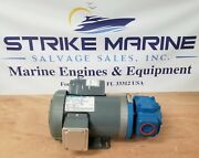 Marathon Electric G553 Electric Motor With Tuthill Ccl102017 Rotary Gear Pump