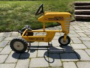 Vintage Amf Ranch Trac Turbo 502 Pedal Tractor