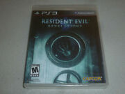 Brand New Factory Sealed Playstation 3 Ps3 Game Resident Evil Revelations Capcom
