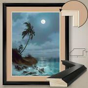 32wx40h Silver Trail By Roy Gonzalez Tabora Double Matte Glass And Frame