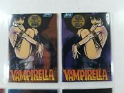 Vampirella Series 1 Trading Cards Complete Set Including All 6 Horror Glow Cards
