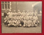 Antique 1906 Univ Of Pennsylvania Baseball Team Imperial Cabinet Photo Penn Uofp