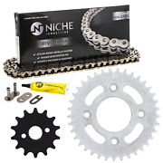 Sprocket Chain Set For Honda Crf50f Xr50r 14/37 Tooth 420 Rear Front Combo Kit