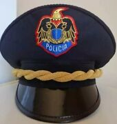 Albania National Police Hat Replica Made Of Fine Quality Embroidered Badge
