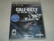 Brand New Factory Sealed Playstation 3 Ps3 Game Call Of Duty Ghosts Activision