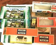Plasticville And Lionel Empty Box Lot Of 11 Vintage 153, 749, 6-2154 Shade Trees