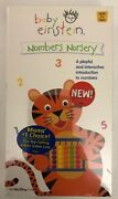 Baby Einstein Numbers Nursery Vhs-rare Vintage Collectible-ship N 24h-brand New