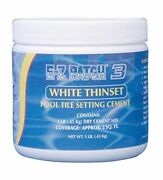 Easy To Use Swimming Pool Tile Setting And Repair Cement Mix 1lb