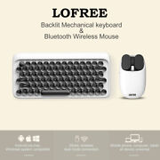 Lofree Mechanical Backlit Keyboard And Mouse Bluetooth Wireless Blue / White / Red
