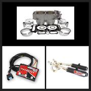 Polaris Rzr 900 To Big Bore 975 Top End Kit W/ Exhaust And Fuel Controller 2011-14