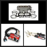Polaris Rzr 900 To Big Bore 975 Top End Kit W/ Exhaust And Fuel Controller 2015