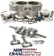 Polaris Rzr 900 To 975cc Big Bore Engine Kit Piston Cyl Crank 2011-12
