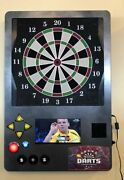 Wall Mount Coin Operated Electronic Take Aim Dart Machine, Free Shipping, New