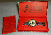 Mickey Mouse Watch 1933 Ingersoll / Disney / Complete / Displays Very Nicely
