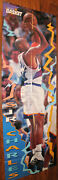 1996 Charles Barkley + David Robinson Fold-out Double Sided Poster From Magazine