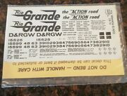 Ho Herald King And039rio Grandeand039 Orange Acf Covered Hopper W/black Decals H-42