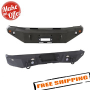 Smittybilt M1 Front And Rear Bumpers For 2008-2010 Ford F-250 And F-350 Super Duty