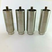 6 Stainless Steel Adjustable Legs Commercial Appliance Ice Machine Set Of 4