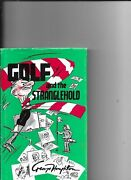 Four George Houghton Golf Books With Cartoons And Caricatures