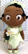 Disney Store Tiana Toddler Plush The Princess And The Frog Animators Doll Toy