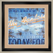 32wx32h The Fantasy By Rodney White - Plane - Double Matte Glass And Frame