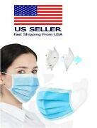 8000 Pcs 3-ply Blue Face Mask Earloop Surgical Indstrial Authorized Seller-