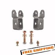 Synergy Mfg 8815-01 Front Lower Shock Extension Brackets For 18-20 Jeep Jl/jt
