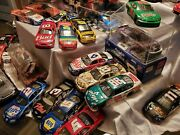Lot Of 55 1/24 Nascar Diecast -cars