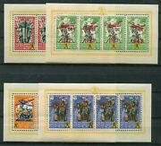 Germany Issue For The Volunteers In Flemish Ss Legion V-ix Mnh Complete Sheets