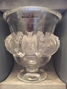 Lalique Glass Vase Open To Sensible Offers