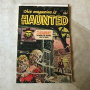 This Magazine Is Haunted 4 Apr 1952 Fawcett Pch Precode Horror Comic Dr Death