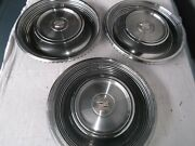 1968-1969 Cadillac Factory Wheelcovers / Hubcaps Three