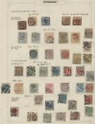 Denmark Collection Used On Pages Many Better F/vf To Vf Scott 3348.00