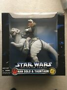 Star Wars Han Solo And Tauntaun + 4 Hoth 12 Inch Figures Factory Sealed