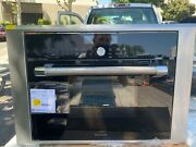"""Thermador 24"""" Black Single Combination Steam/convection Wall Oven Mes301hp"""
