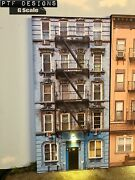 G Scale Scratch Built Apartment 1 Led Building Front Flat - Mth Lgb Aristo
