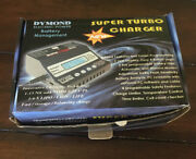 Battery Charger For 1-6 Lipo Batteries Or Nicad With Multiconnectors