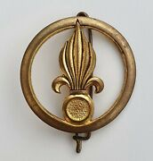 French Foreign Legion Beret Badge Infantry Regiment Indochina Drago Romainville