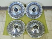 68 69 Ford Hub Caps 15 Set Of 4 Wheel Covers Hubcaps 1968 1969