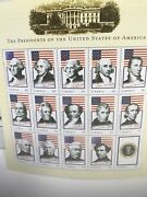 The Presidents Of The United States Of America Liberia 15 Stamps 6 Each F5