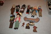 Lot Of Cowboys And Indians Doll And Extra