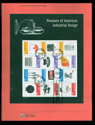 4546 Forever Pioneers Of American Industrial Design Usps 1128 Souvenir Page